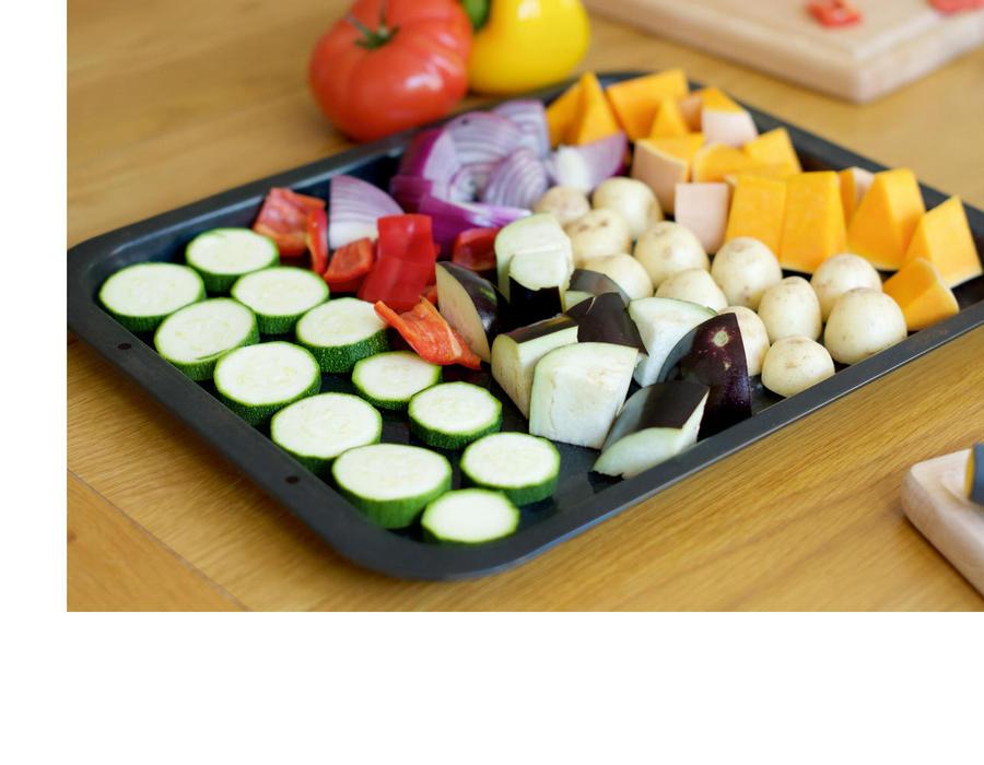 Tray of veg