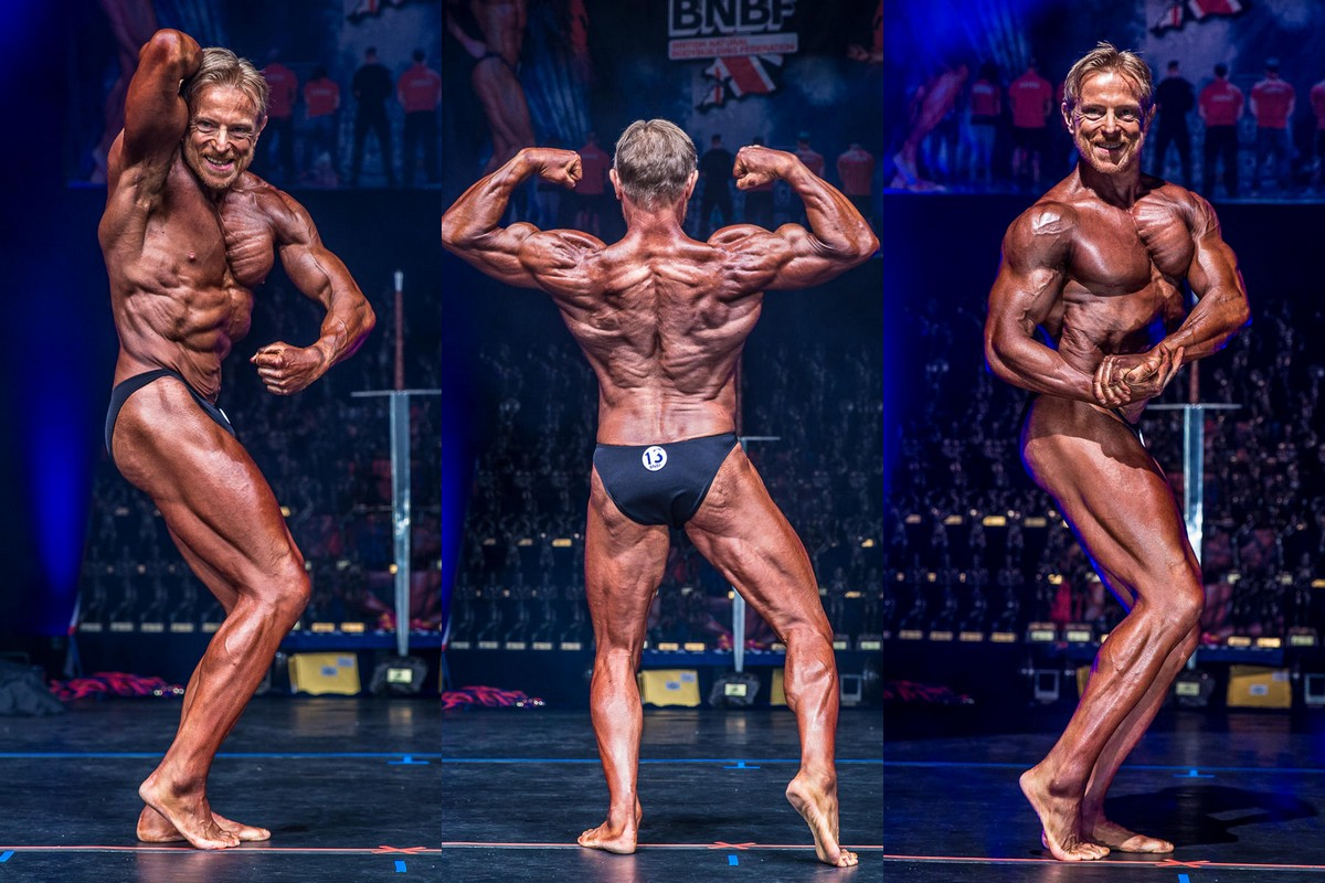 Jon on stage bodybuilding