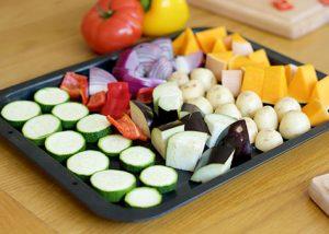 Mixed veg tray