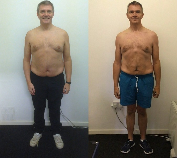 Clive - before and after front