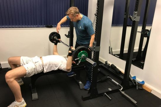 client bench press