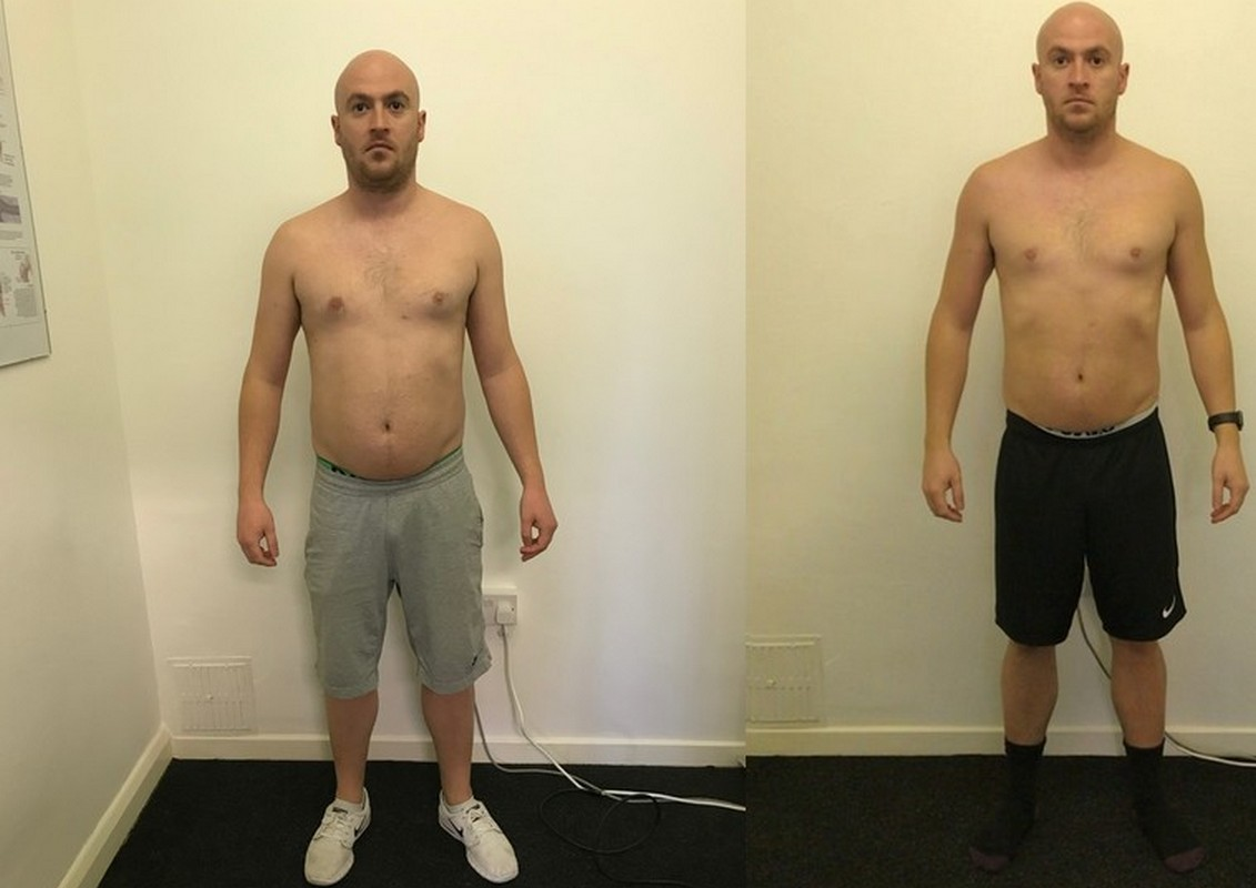 Sam - before and after front
