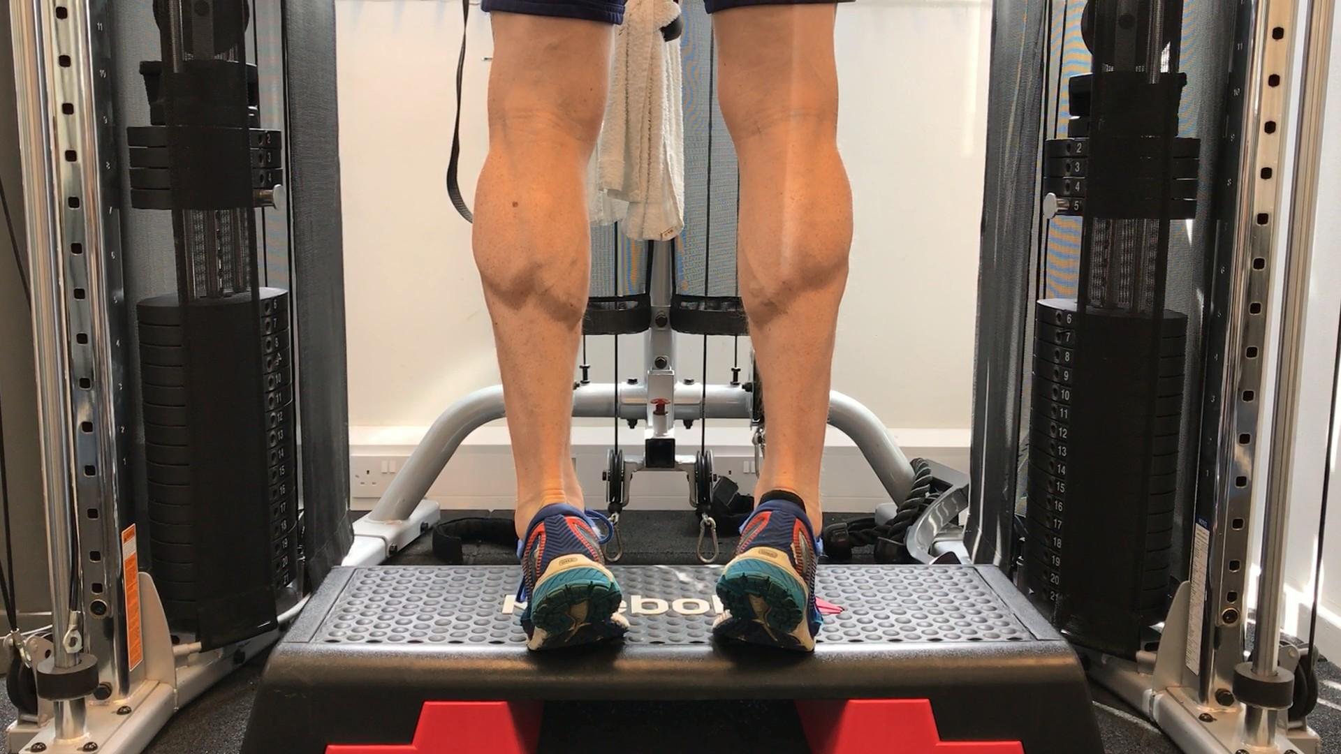 Top 5 best calf exercises- standing heel raises