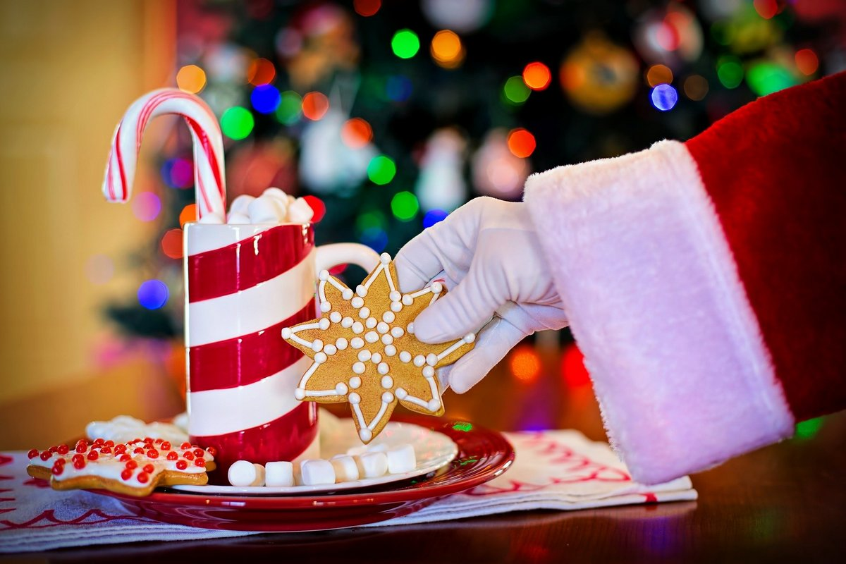 Christmas sugar concoction. Sugary drinks are loaded with calories, one of a number of reasons to avoid sugar.