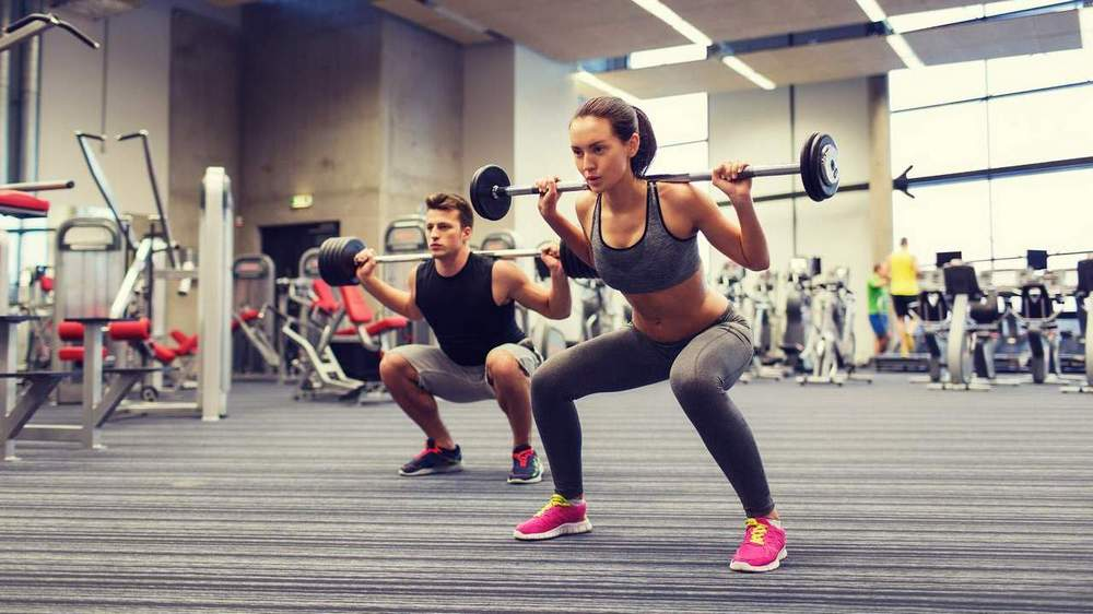 A squat class. The biggest weight loss mistake is not changing your lifestyle to include exercise